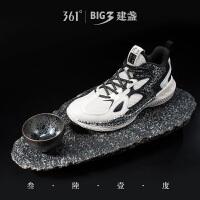 【361°限时秒杀】【big3】361篮球鞋男无双建盏高帮战靴男2019夏季新款防滑运动鞋