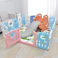 宝宝学步爬行垫围栏儿童室内游戏婴儿防护栏家用安全塑料栅栏