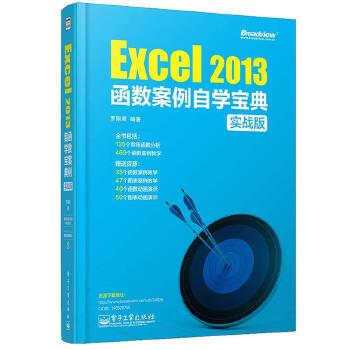 Excel 2013函数案例自学宝典(实战版)