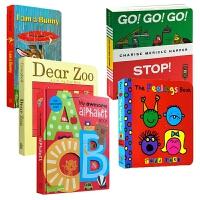 婴幼英文启蒙书5册 英文原版 Dear Zoo亲爱的动物园 I Am a Bunny我是一只兔子