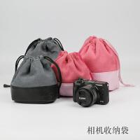 相机包佳能M3M5M6微单内胆包林巴斯EM10II布袋摄影器材包包