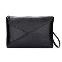 男士夹包中老年人手包爸爸手拎公文包手拿包大容量商务男文件包包