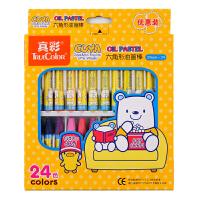 真彩24色油画棒 创意 儿童蜡笔套装 酷丫油画棒 2966A-24