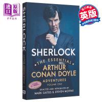 【中商原版】Sherlock 英文原版 福尔摩斯探案集精选(第一卷) 电影小说