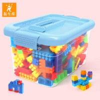 儿童塑料积木玩具3-6周岁益智男孩1-2岁女孩宝宝拼装拼插积木桌