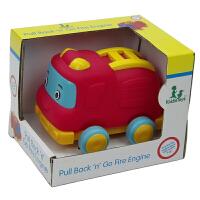 【当当自营】宝乐童益智Q版卡通回力玩具车0-3岁消防车玩具小车6204