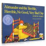 汪培�E推荐 美国Top100本必读英文原版绘本 Alexander and the Terrible Horrible