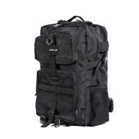 新款战术背包大容量登山包摄影包电脑包户外旅行双肩包多功能男包 黑色