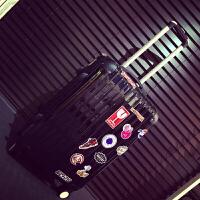 旅行箱万向轮女拉杆箱24寸男行李箱小清新学生密码箱皮箱子20韩版
