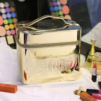 化妆包微商订制化妆盒子大容量收纳包便携式手大号化妆箱