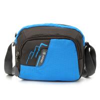 运动小包男 单肩斜挎包随身便携手机包男士迷你小包包休闲布包