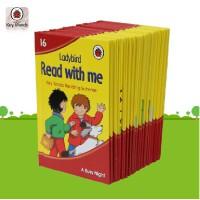 顺丰发货 英文原版Read with Me跟我读 少儿分级启蒙认知英文原版儿童读物16本套装 3-8岁不易撕坏的绘本故事分级别读物