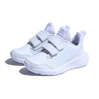 【到手价:199.5元】阿迪达斯(adidas)新款男女童鞋训练魔术贴运动鞋舒适小白鞋CM8588 白色