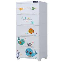 儿童玩具收纳柜 塑料抽屉式整理箱婴儿宝宝衣服储物柜子