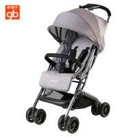 gb好孩子婴儿车推车可坐可躺宝宝推车四轮避震伞车轻便折叠D678
