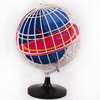 320MM经纬度模型 黄道经纬仪 地球仪学生地理教学仪器,教学仪器. 黄道经纬度地球仪模型 经纬仪