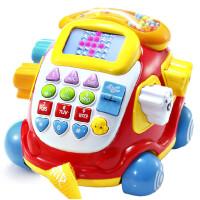 澳贝 电子汽车电话463429澳贝儿童早教益智学习宝宝玩具积木