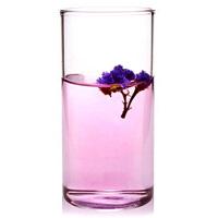 直筒透明耐�岵A�水杯 �k公杯 300ml果汁杯 玻璃杯透明果汁杯耐��o�w牛奶杯水杯