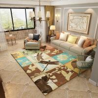 【年货节限时狂欢】现代简约地毯北欧美式乡村地毯客厅茶几地毯卧室满铺床边地毯地垫