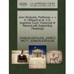 Joan Eliopulos, Petitioner, v. v. H. Hildyard et al. U.S. S