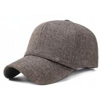 2018082339503742018新款中老年男士帽子春秋天中年爸爸布帽子秋季老人棒球帽鸭舌帽遮阳帽 可调节