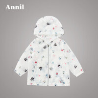 安奈儿童装女小童春夏新款梭织外套XG715635