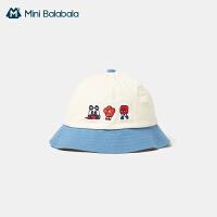 [TOYOYA联名]迷你巴拉巴拉儿童帽子时尚轻薄儿童渔夫帽盆帽