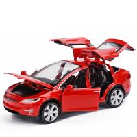 六开门越野合金车模男孩礼物1:32儿童玩具声光回力小汽车模型默认 红色或备注