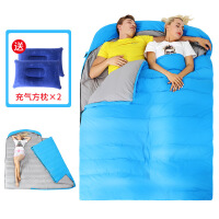 隔脏睡袋双人睡袋加厚保暖户外野营室内秋冬季露营旅行隔脏大人睡袋