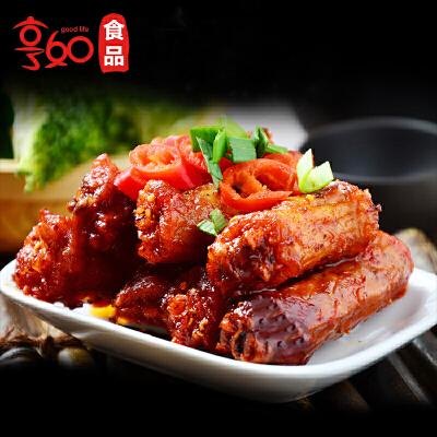 食为先麻辣鸡脖360g湖南特产辣好吃的小吃休闲香脖食品零食批发