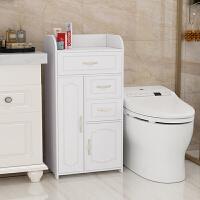 卫生间置物架落地洗手间浴室用品储物收纳柜防水厕所马桶边柜侧柜