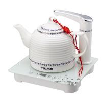 陶瓷自动加水上水调温烧水壶304大容量茶壶电热水壶套装