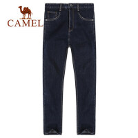 camel骆驼男装春夏新品牛仔裤男修身弹力舒适潮男直筒长裤休闲裤男