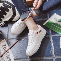 夏季新款休闲小白鞋百搭韩版白色板鞋单鞋平底女鞋街拍