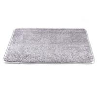 吸水珊瑚绒进门地垫 卧室门垫脚垫厨房地毯浴室门口防滑垫 61.5x41cm