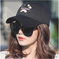 鸭舌帽女网红同款时尚韩版防晒休闲百搭帽子女运动太阳帽户外运动新品嘻哈帽棒球帽