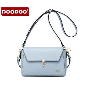 【支持礼品卡】DOODOO2018新款斜挎女包甜美淑女日韩休闲百搭单肩女士小包包 D6082