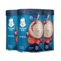 嘉宝番茄牛肉米粉营养米粉250g*3 (8-36月)