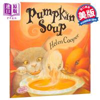 南瓜汤 Pumpkin Soup 英文原版 海伦库伯 HelenCooper Farrar