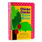 【中商原版】英文原版儿童书 Chicka Chicka Boom Boom 叽喀叽喀碰碰 (名家绘本)