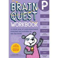 大脑任务 低幼版 英文原版Brain Quest Workbook:Pre-K少儿智力开发
