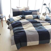 君别 床上四件套 床单被套被罩三件套简约公主风被子