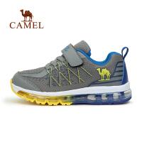 camel骆驼童鞋 秋季透气网面儿童全掌气垫舒适缓震轻跑运动鞋