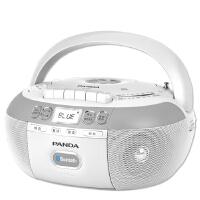 【赠16G优盘+耳机+空白磁带!】熊猫 CD-880复读dvd机CD机播放机磁带U盘TF卡转录蓝牙连接 蓝牙 磁带dvd U盘插卡 复读机