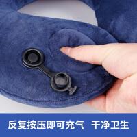 旅行配件 U型枕 充气 护颈枕头 旅行枕便携 多功能 飞机靠枕 午睡