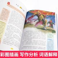 列那狐的故事 正版 小学生二三四年级课外书五六年级上册世界名著原著彩图7-8-9-10-12岁青少年版儿童读物文学书籍