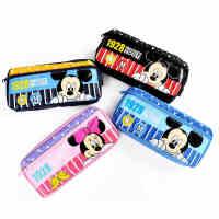 儿童文具盒卡通笔袋米奇多功能大容量笔袋 学生文具用品