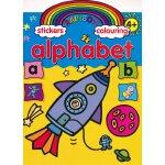 Rainbow Stickers Alphabet