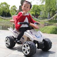 儿童电动车摩托车四轮玩具车可坐人小孩电瓶车宝宝童车1-3岁
