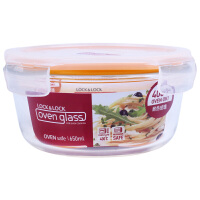 乐扣乐扣玻璃保鲜盒650ml 保鲜碗饭盒LLG831